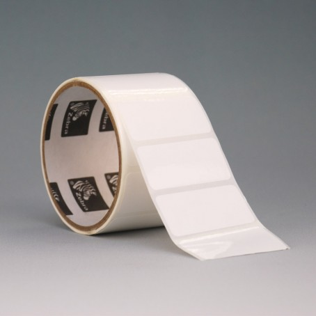 Kunststoff-Etiketten 51 x 25 mm, Zebra 8000T Cryocool
