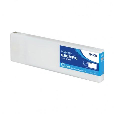 Epson Color Works C7500g - Tintenpatrone, cyan, glänzend