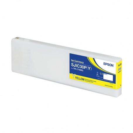 Epson Color Works C7500g - Tintenpatrone, gelb, glänzend