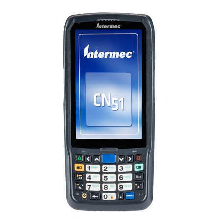 Intermec CN51, WEH 6.5 WW Englisch, 2D Imager EA31, Kamera, Bluetooth, WLAN 802.11a/b/g/n, UMTS/HSPA/GPS, QWERTZ Tastatur