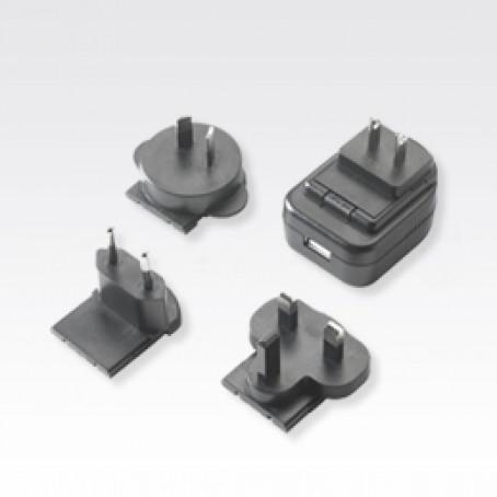 Power Supply: 100-240 VAC, 5V, 1.2A w/plugs