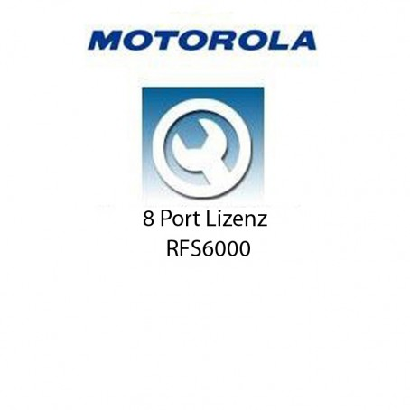 Motorola RFS6000 - 8 Port Upgrade