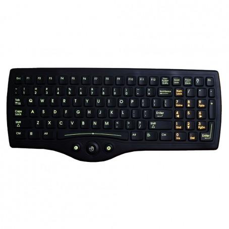 """LXE VX7 Windows """"Laptop"""" Style Tastatur mit 2 integrierten Mausschalter. D9 Stecker"""
