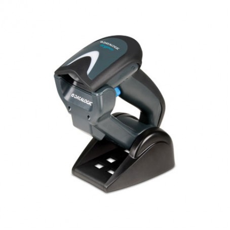 Datalogic Gryphon I GBT4100, Scanner only, Bluetooth, Linear Imager, Green Spot, schwarz
