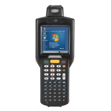 Motorola MC3200 , 1D Laser, 802.11a/b/g/n WLAN, Rotating Head, Bluetooth, 48 Tasten, Standard Capacity Akku, CE7.x Pro, 512MB RAM/2GB ROM