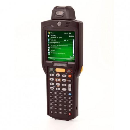 Motorola MC3190 Rotating Head, 1D Laser, WLAN 802.11 a/b/g, Bluetooth, 38 Tasten, Standard Akku, CE 6.0 Pro, 256MB RAM/1GB ROM