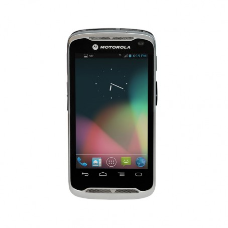 Motorola TC55, Android 4.1.2 (Jelly Bean), WLAN a/b/g/n, USB, Bluetooth, kein Scanner, ext. Akku