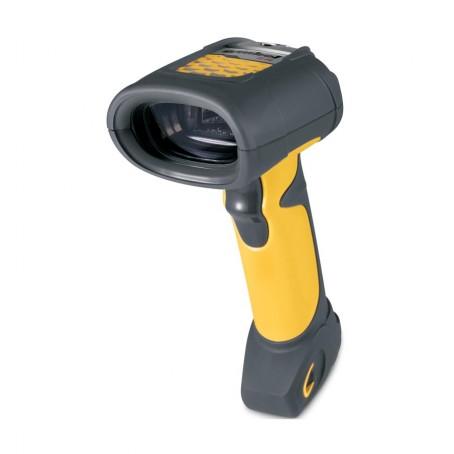 Motorola LS3408, Scanner-Kit, KBW, SR, Fuzzy, schwarz/gelb