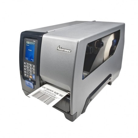 Honeywell PM43, 200 dpi, Thermodirekt, LTS, Rewinder, Ethernet, parallel, Farb-Touch Schnittstelle