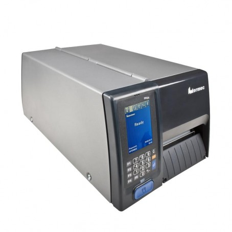 Honeywell PM43C , 200 dpi, Thermotransfer, LTS, Rewinder, Ethernet, Farb-Touch Schnittstelle, Echtzeituhr, Short Door