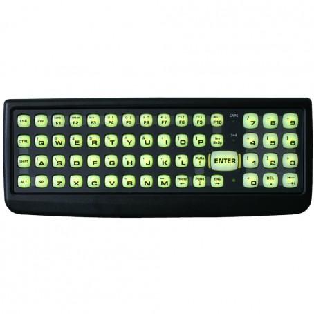 LXE Tastatur mit 60 Tasten, QWERTY. D9 Stecker