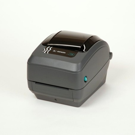 Zebra GX420t, 200 dpi, Dispenser (Peeler), 64 MB Flash & 8 MB SDRAM, Beweglicher Media Sensor, auto-sensing