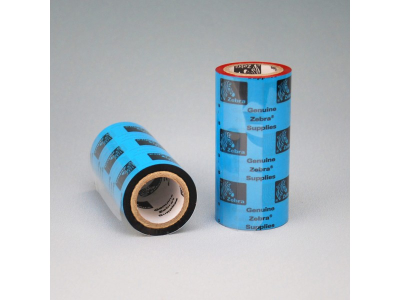 Wachs-Farbbänder 60 mm x 450 m , Zebra 5319 wax