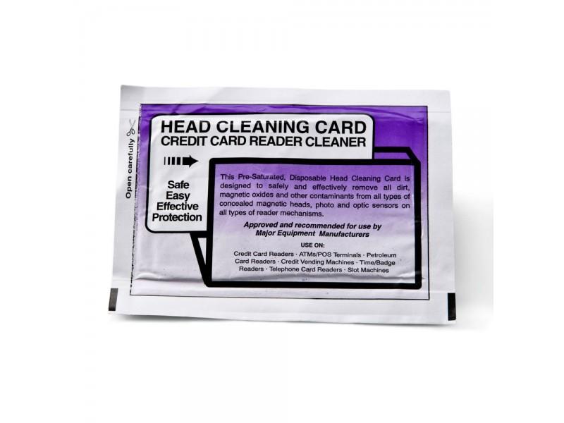 Reinigungskarte für Magentstreifenlesegerät, 5er Pack