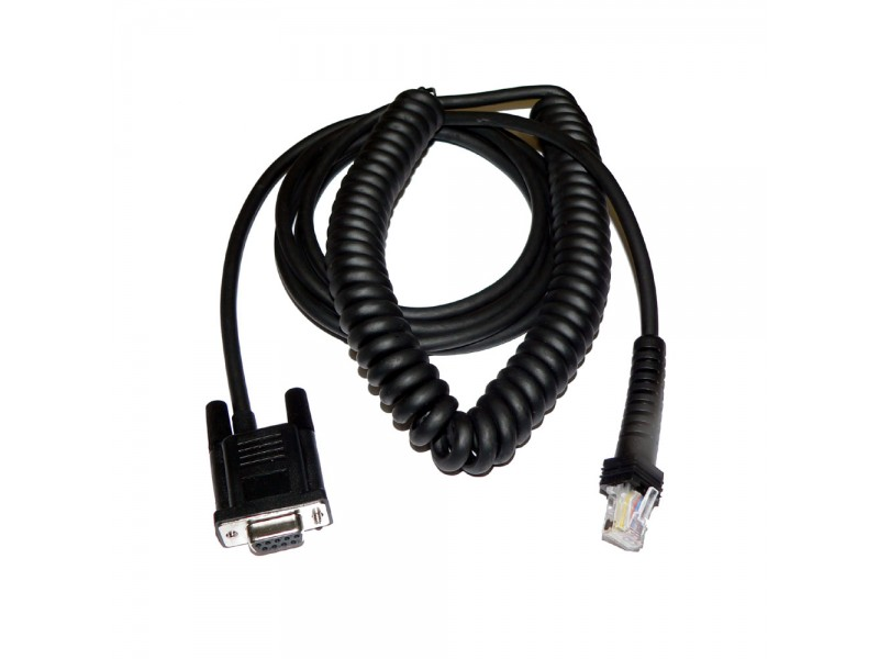 RS232 Kabel, 9D, S, External Power, 3,7 m, gedreht