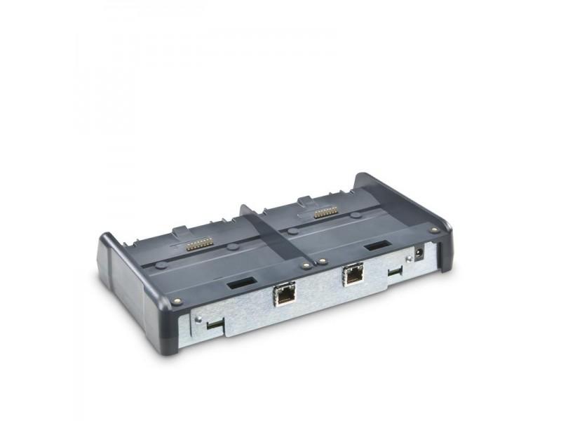 Flexdock 2-fach Basisstation, Ethernet, ohne Netzkabel