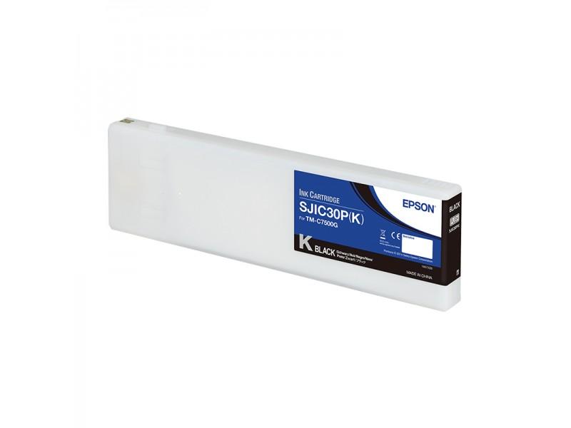 Epson Color Works C7500g - Tintenpatrone, schwarz, glänzend