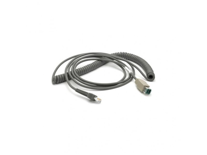 USB Kabel, Power Plus Stecker, 4,5 m, gedreht