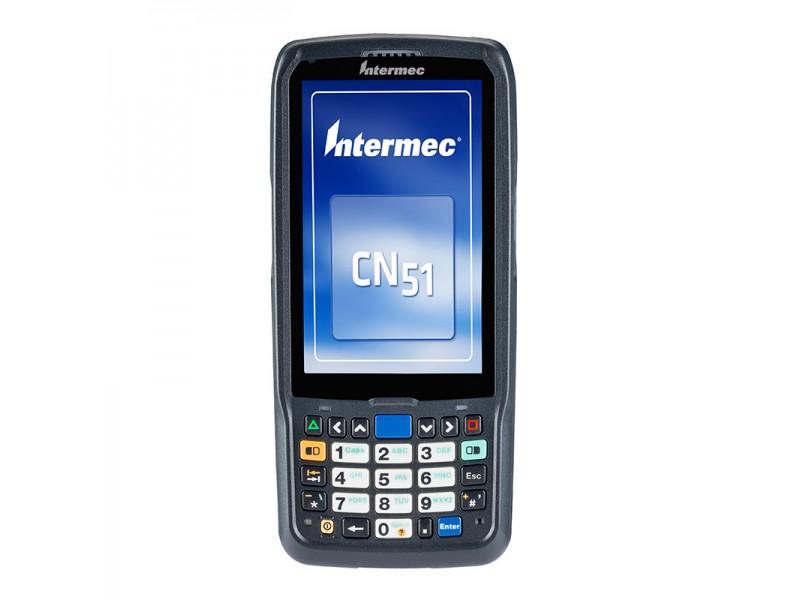 Intermec CN51, WEH 6.5 WW Englisch, 2D Imager EA30, Bluetooth, WLAN 802.11a/b/g/n, UMTS/HSPA/GPS, QWERTZ Tastatur