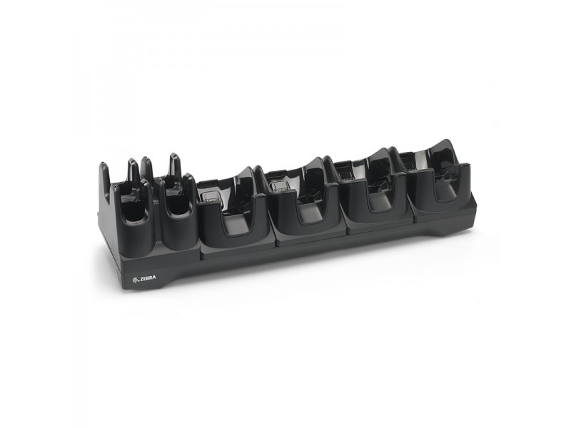 Zebra TC8000 4-Slot Charge-Ethernet Cradle w/ Ersatzbatterie 4-Slot