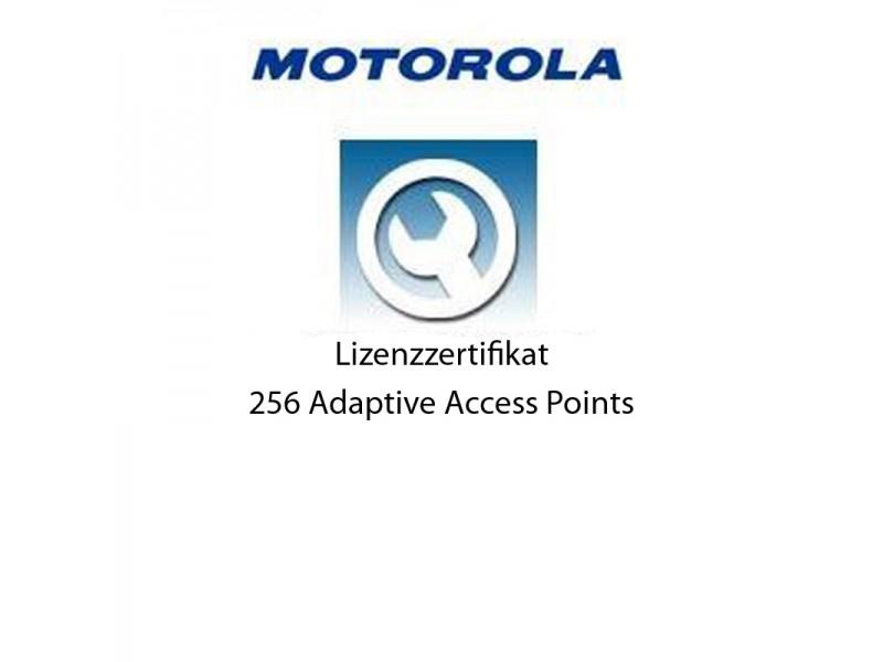 Motorola RFS6000 - Lizenz Zertifikat für 256 Adaptive Access Points
