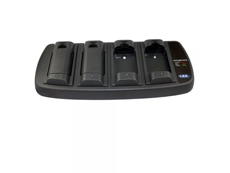 4-fach Batterie-Ladegerät. Mit Netzteil, ohne Netzkabel (Typ C8 benötigt)