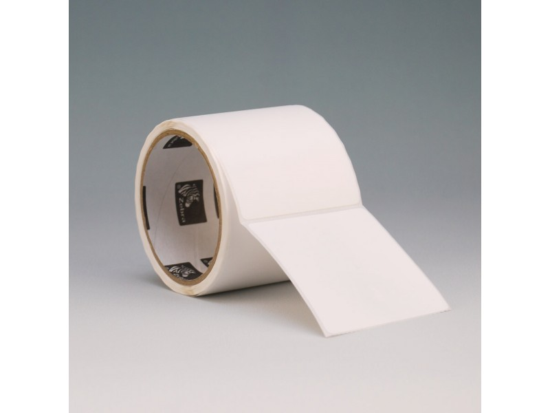Kunststoff-Etiketten 102 x 76 mm, Zebra PolyO 3100T