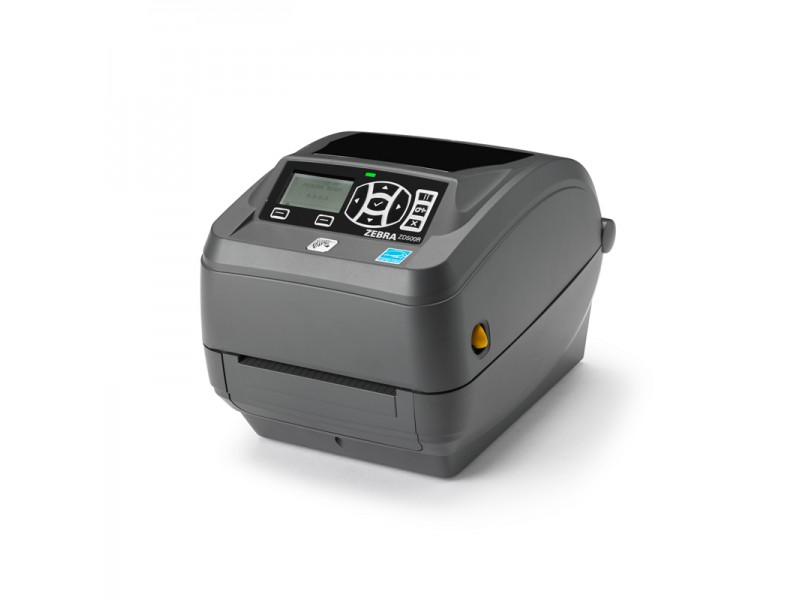 Zebra ZD500R, 200 dpi, Dispenser, ZebraNet 10/100 Printserver, 802.11 a/b/g/n, Bluetooth