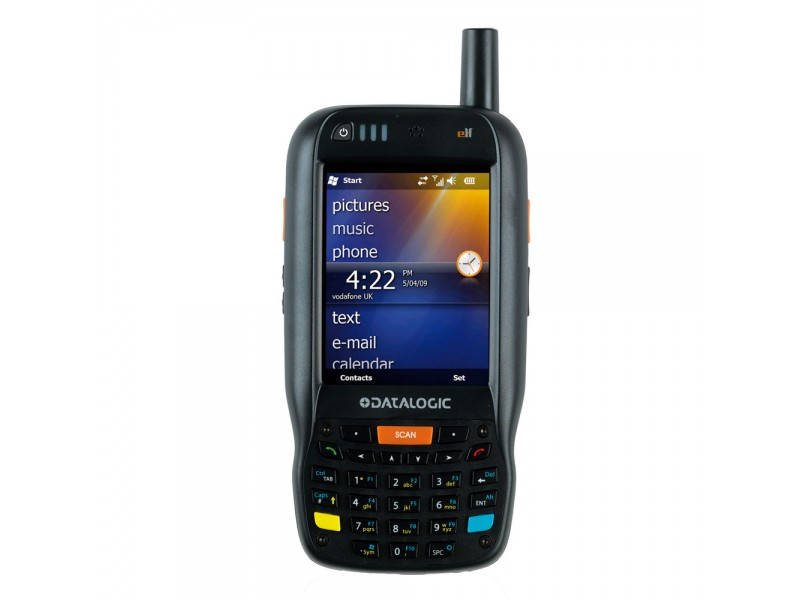 Datalogic Elf, 2D Imager, BT, WLAN, UMTS HSDPA, GPS, Green Spot, WM 6.5, 256MB RAM/256MB Flash, AZERTY