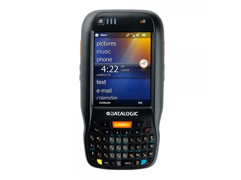 Datalogic Elf, 2D Imager, BT, WLAN, Green Spot, WM 6.5, 256MB RAM/256MB Flash, QWERTY