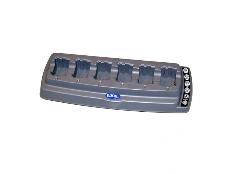 HX2/3 6-fach Batterie-Ladegerät mit unversellem Netzteil