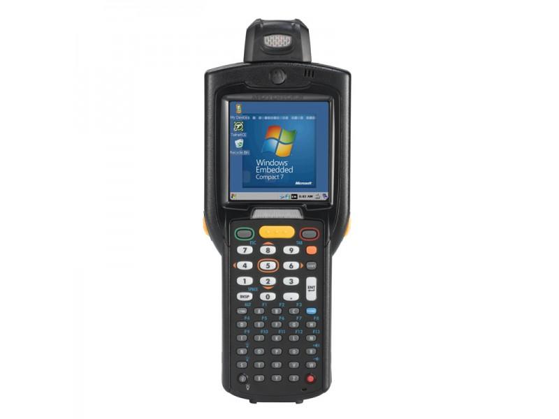 Motorola MC3200, 1D Laser, 802.11a/b/g/n WLAN, Rotating Head, Bluetooth, 38 Tasten, Standard Capacity Akku, CE7.x Pro, 512MB RAM/2GB ROM