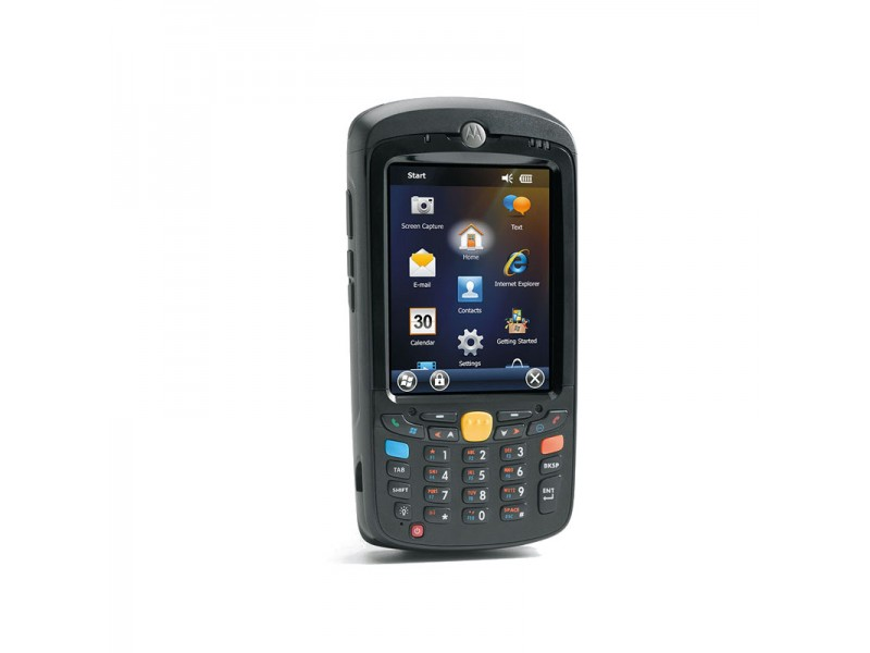 Motorola MC55A0, 1D Laser, WLAN 802.11 a/b/g, Bluetooth, 256MB RAM/1GB Flash, QWERTY, WM 6.5 Classic, 2400 mAh Akku