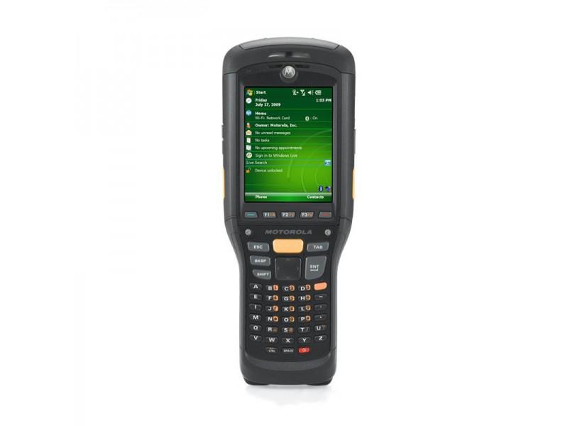 Motorola MC9500-K, Brick, WLAN 802.11 a/b/g, HSDPA, 2D Imager, GPS, 256MB/1G, alpha Tastatur, WM 6.5, Bluetooth