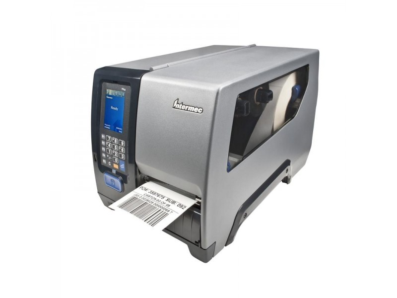 Honeywell PM43, 200 dpi, Thermotransfer, LTS, Rewinder, Ethernet, RFID, Farb-Touch Schnittstelle