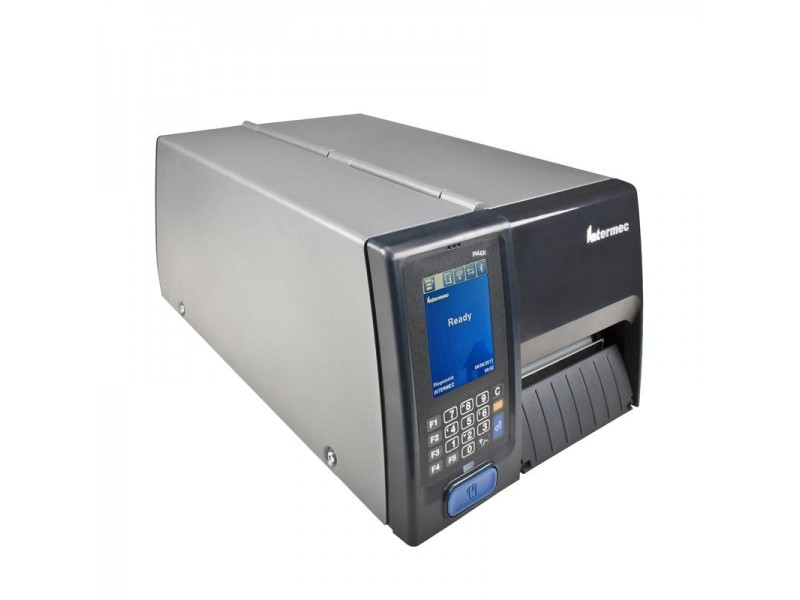 Honeywell PM43C , 200 dpi, Thermodirekt, LTS, Rewinder, Ethernet, Farb-Touch Schnittstelle, Echtzeituhr, Short Door