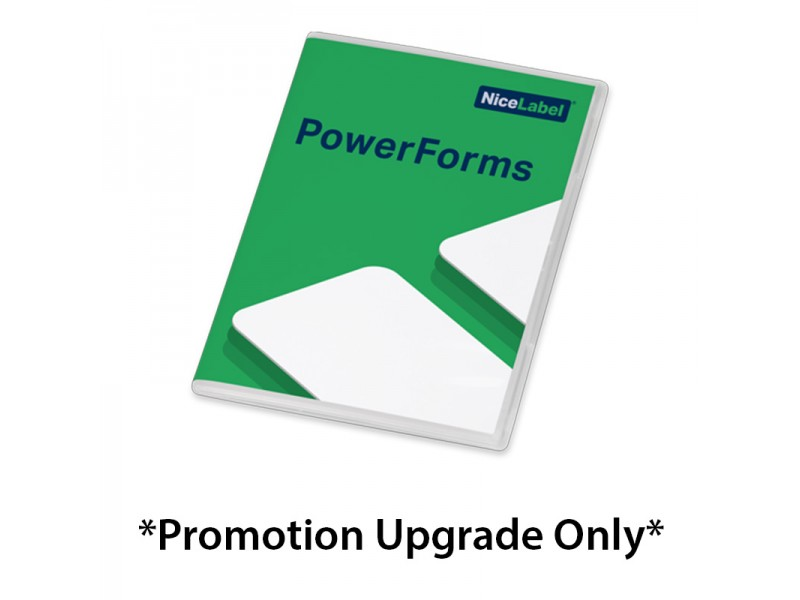 NiceLabel  2017 *UPGRADE ONLY* Power Forms