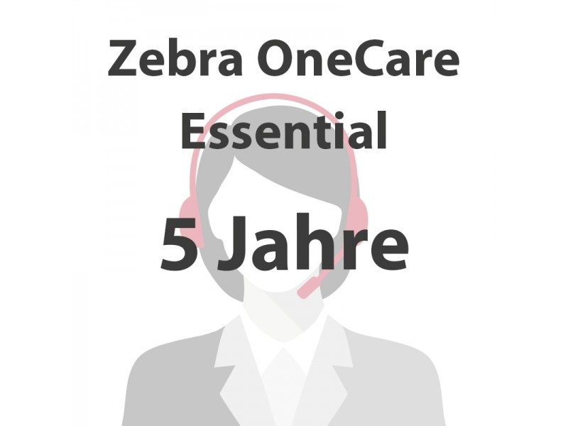 5 Jahre Zebra OneCare Essential für HC100
