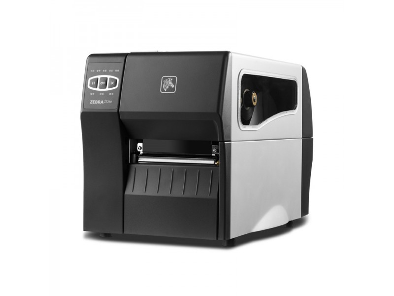 Zebra ZT220, 200 dpi, TT, Cutter, Wireless PrintServer