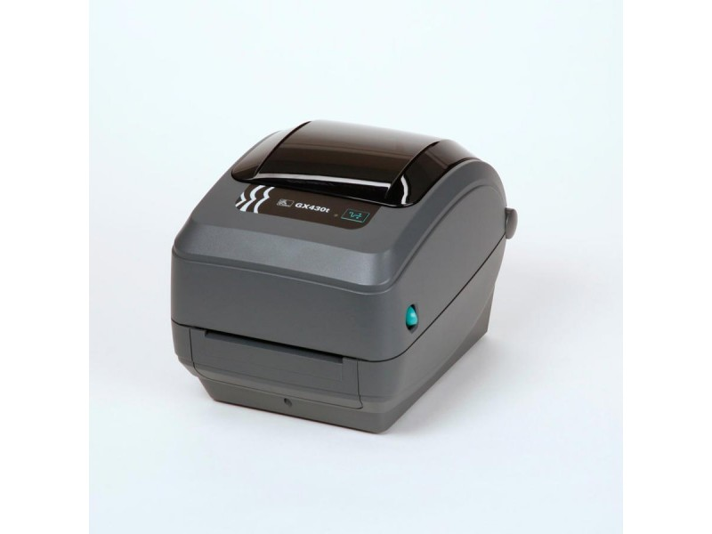 Zebra GX430t, 300 dpi, Dispenser (Peeler), 64 MB Flash & 8 MB SDRAM, auto-sensing