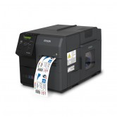 Epson ColorWorks C7500, 600 x 1200 dpi, Cutter, Dispenser, USB, Ethernet, schwarz