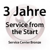 3 Jahre Service from the Start Service Center Bronze für MC31XX