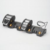 QLn220/320 EU EC4 4fach Ethernet Cradle + 50W Netzadapter
