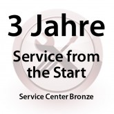 3 Jahre Service from the Start Service Center Bronze für MC31XX