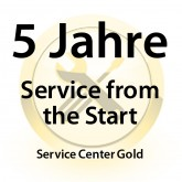 5 Jahre Service from the Start Service Center Gold für MC31XX