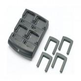 MC70/75, MC30/31/32 4-fach Batterie-Ladestation