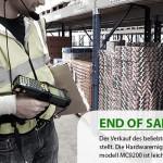 Branchenführendes Industrie-Handheld wird ersetzt
