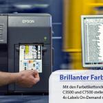 Farbetikettendrucker von Epson neu im Webshop