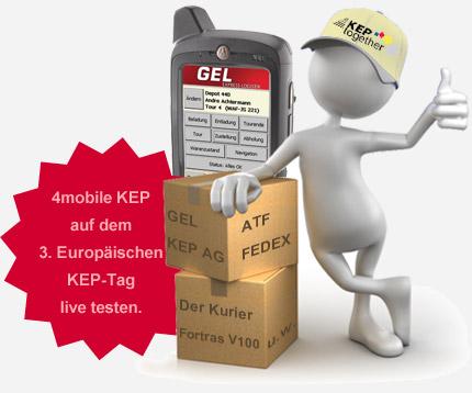 Live-Test: Effiziente Scanlösung für KEP-Dienste auf dem 3. Europäischen KEP-Tag