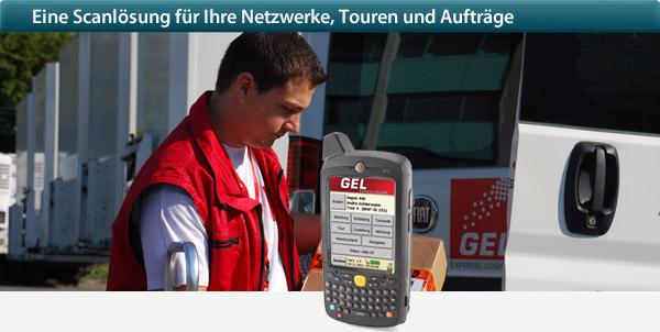 Mobile Lösung für Kurier-, Express- und Paketdienste